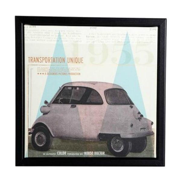 Rámeček s obrázkem Transporttation, 25x25 cm