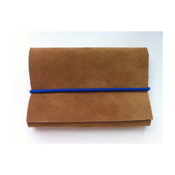 Peněženka Teddy Bear s modrou a červenou gumičkou