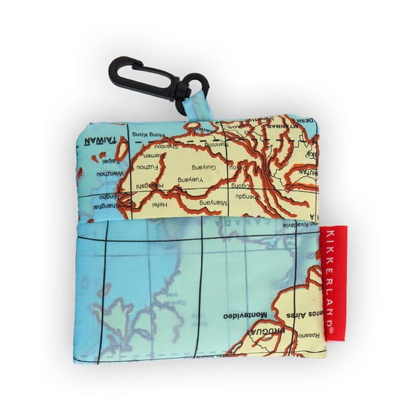 Sac de voiaj pentru rufe Kikkerland Maps