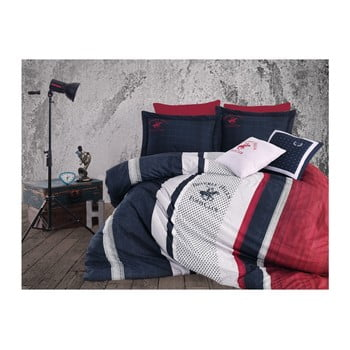Lenjerie de pat cu cearșaf BHPC Charlotte, 200 x 220 cm