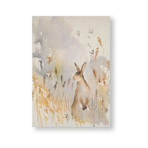 Obraz Graham & Brown Meadow Hare, 50 x 70 cm
