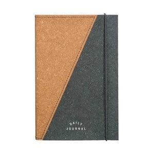 Zápisník z recyklované kůže Gentlemen's Hardware Notebook, A5