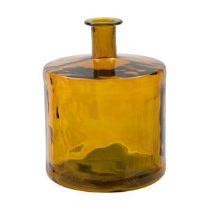 Ornžová váza z recyklovaného skla Mauro Ferretti Lop, výška45cm
