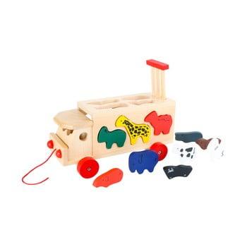 Jucărie din lemn Legler Zoo Cart With Animals de la Legler