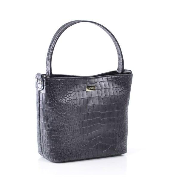 Kožená kabelka Dorothée, černá
