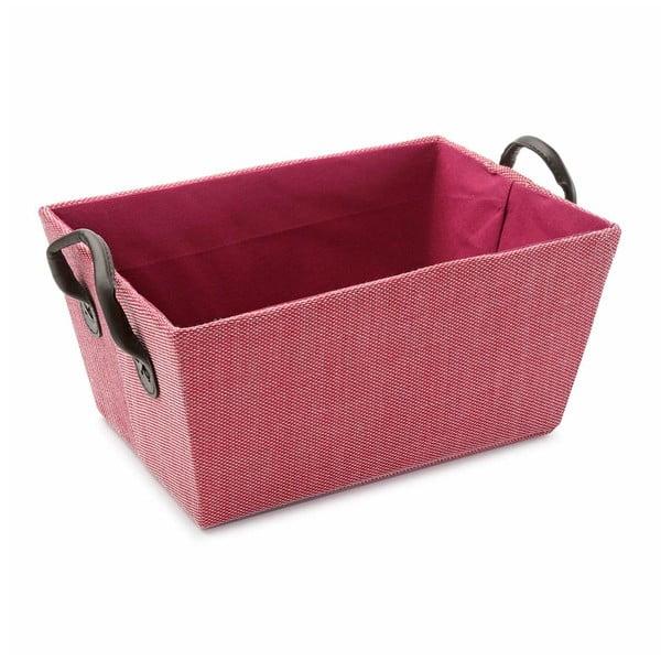 Košík s úchyty Pink Handle, 30x25 cm