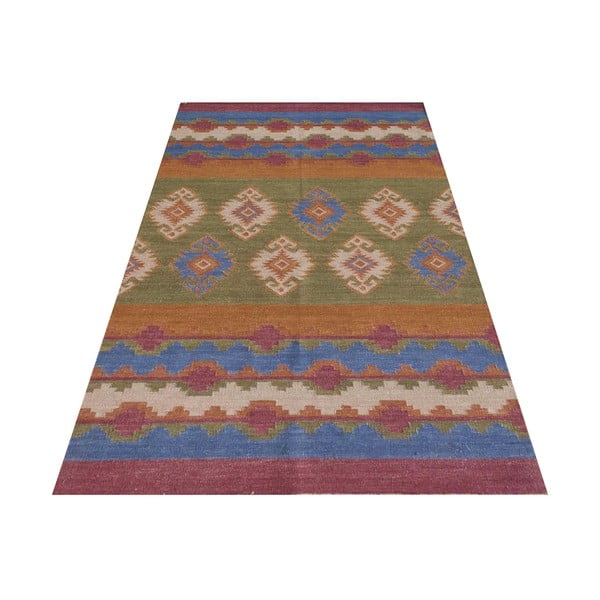 Vlněný koberec Bakero Kilim No.  709, 155x240 cm