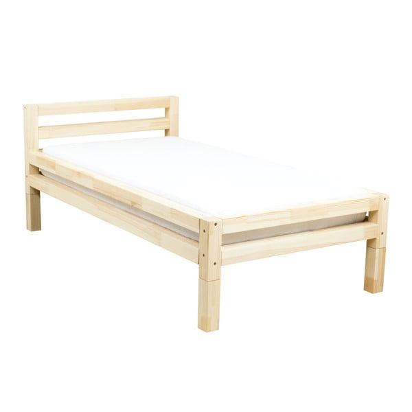 Jednolůžková postel z borovicového dřeva Benlemi Single,90x180cm
