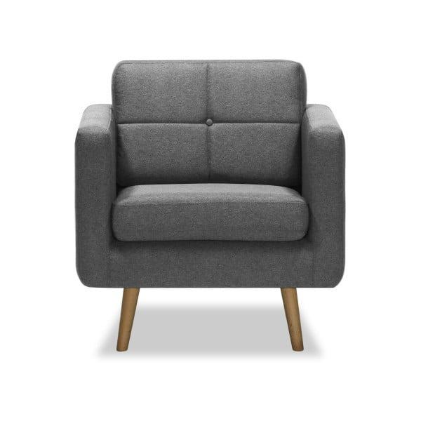Magnus világosszürke fotel - Vivonita