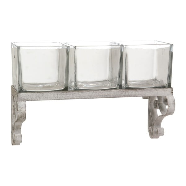 Závěsný stojan na 3 čajové svíčky Curl