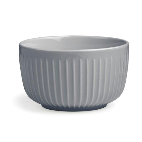 Šedá porcelánová miska Kähler Design Hammershoi, ⌀ 12 cm