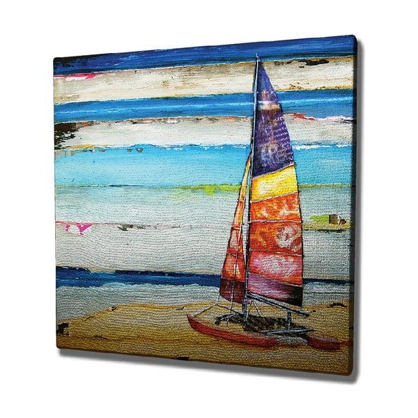 Tablou pe pânză Boat, 45 x 45 cm