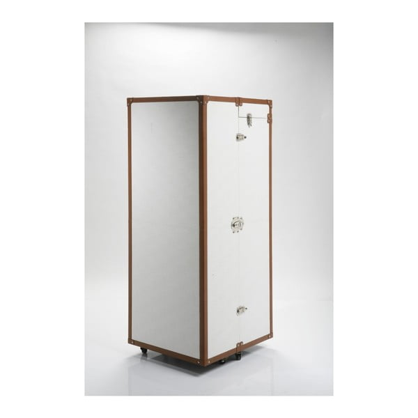 Bílá skříň na kolečkách Kare Design Cosmopolitan