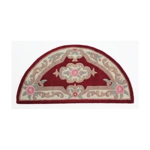 Koberec z vlny Flair Rugs Aubusson Red, 67 x 127 cm