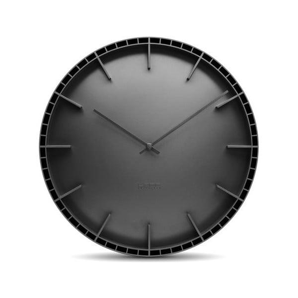 Nástěnné hodiny Black Dome, 45 cm