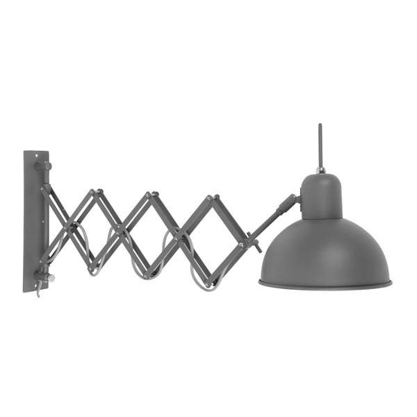 Šedá nástěnná lampa Citylights Aberdeen