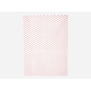 Utěrka Waves, neon pink/white, 50x70 cm