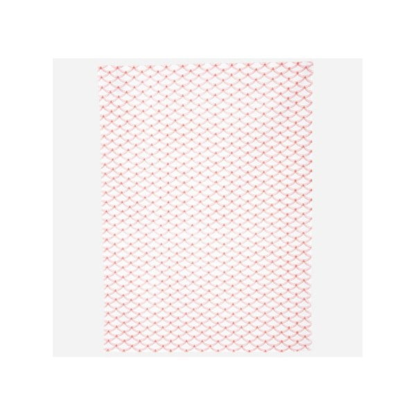 Utěrka Waves, neon pink/white, 50x70 cm