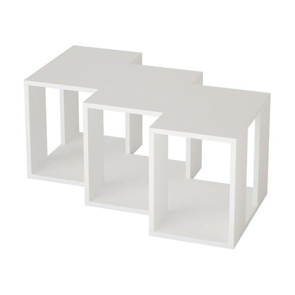 Bílý TV stolek Cons White