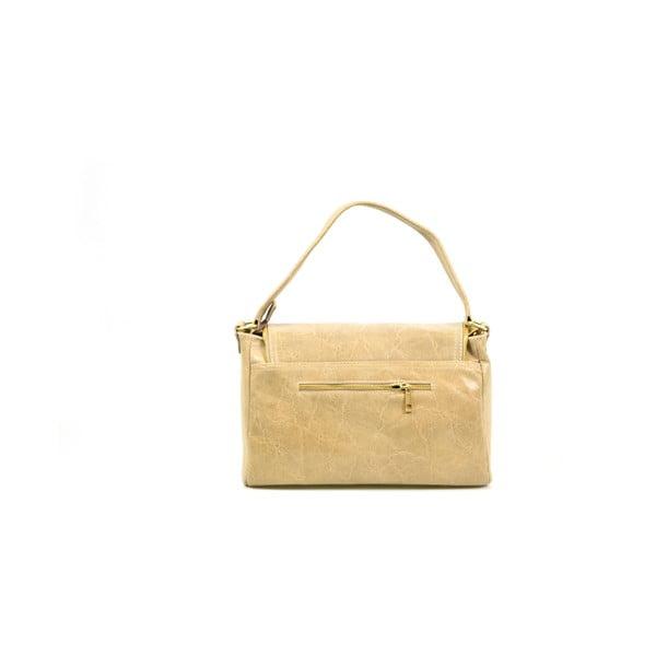 Kožená kabelka Eleonore, taupe