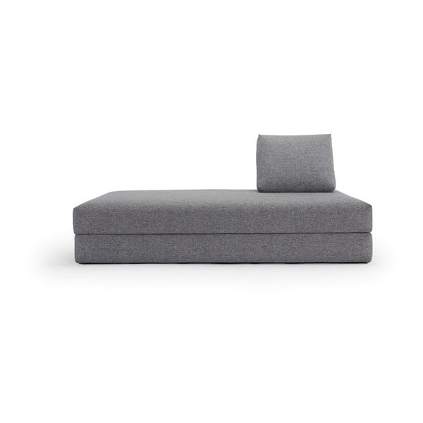 Canapea extensibilă Innovation All You Need Granite, 100 x 200 cm, gri