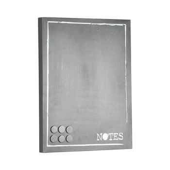 Placă metalică pentru mesaje LABEL51 Memo, gri imagine