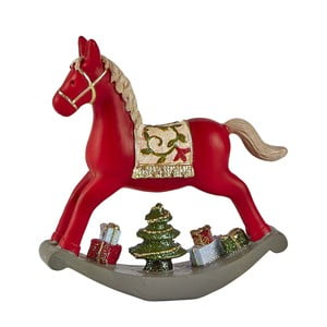 Dekorativní houpací kůň KJ Collection, 14 cm