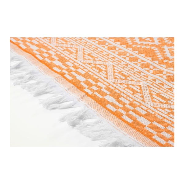 Prosop hammam Motif Orange, 100x175 cm