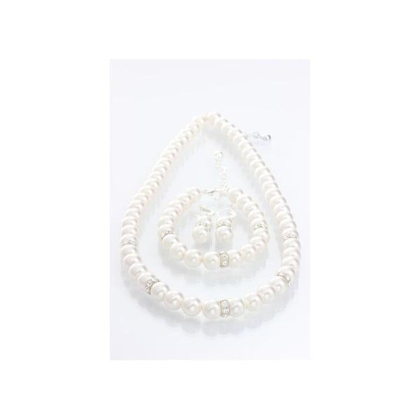 Komplet biżuterii z kryształami Swarovski Elements Laura Bruni Lana