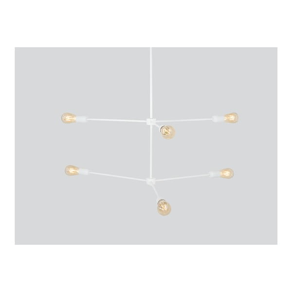 Lustră Custom Form Triso Hexa, alb