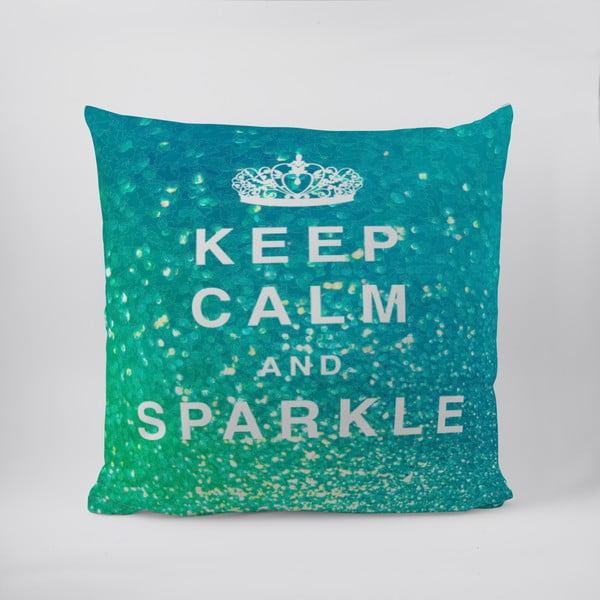 Polštář Keep Calm And Sparkle