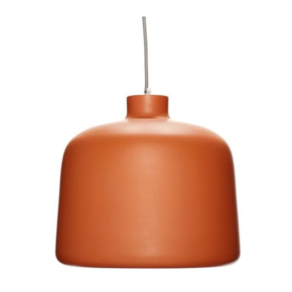 Oranžové závěsné svítidlo Hübsch Muno