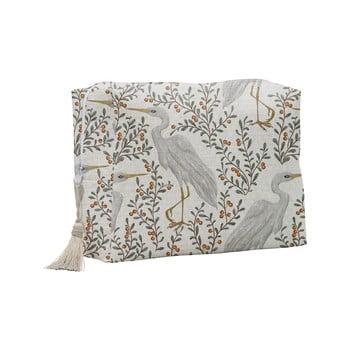 Geantă cosmetică Linen Couture Flamingo