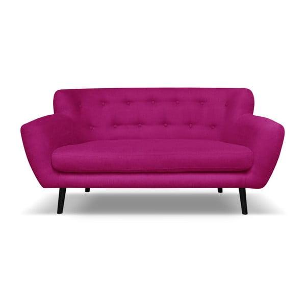 Hampstead rózsaszín kétszemélyes kanapé - Cosmopolitan design