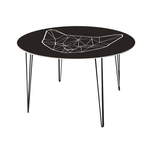 Jídelní stůl Geometric Cat, 120 cm