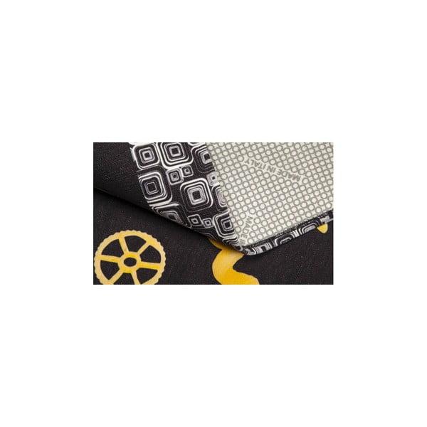 Vysoce odolný kuchyňský koberec Webtappeti Pastabook,60x300cm