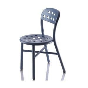 Modrá židle Magis Pipe