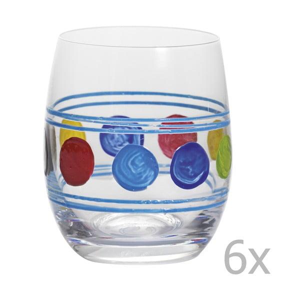 Sada 6 sklenic Summer Blue