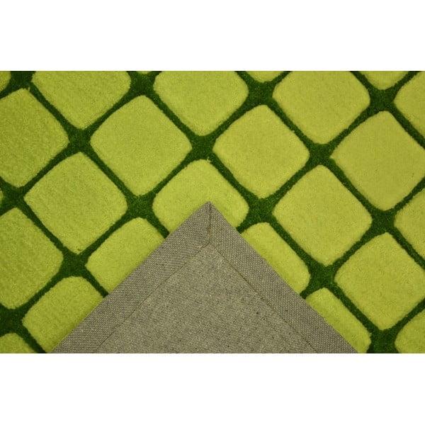 Koberec Casablanca Square 90x160 cm, zelený