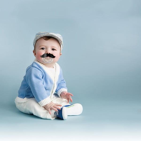Dětský dudlík Fred & Friends Chill Baby Moustache