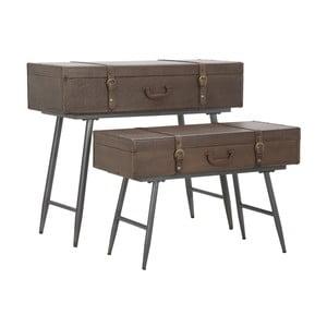 Set 2 console din lemn de brad Mauro Ferretti Travel