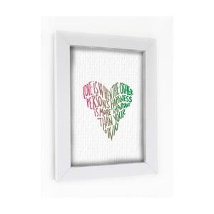 Obraz v rámu Love, Happines