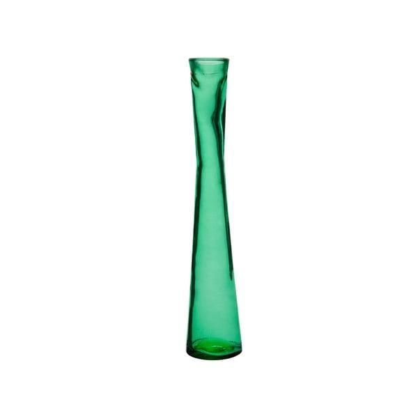 Tmavě zelená váza J-Line Day, 30cm