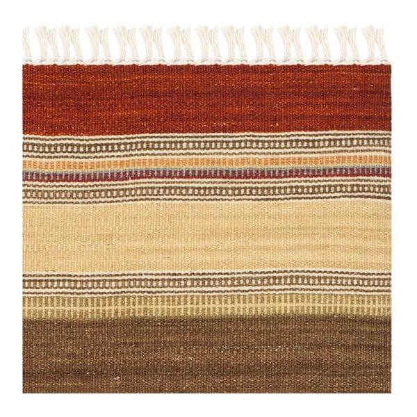 Vlněný koberec Safavieh Caleb Kilim, 76x121 cm