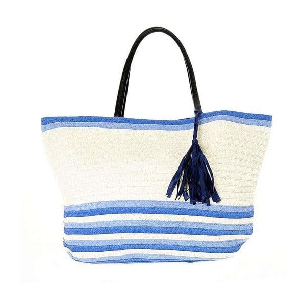 Plážová taška BLE by Inart  Blue Tassel