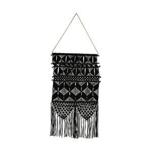 Černá závěsná dekorace House Doctor Artesian Ivory, délka 60 cm