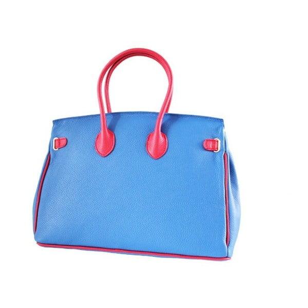 Kožená kabelka Dolce Birk Rosso/Blu/Bianco