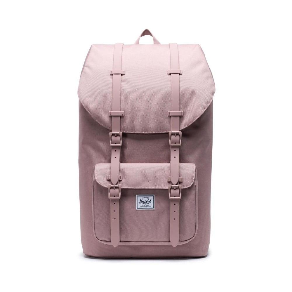 Růžový batoh Herschel Little America