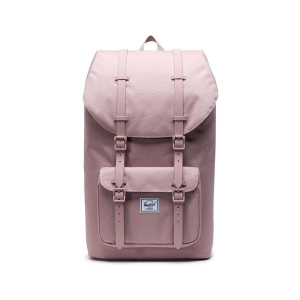Růžový batoh Herschel Little America, 25 l