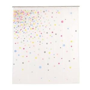 Sprchový závěs Confetti, 200x180 cm